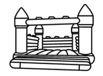 充氣式城堡